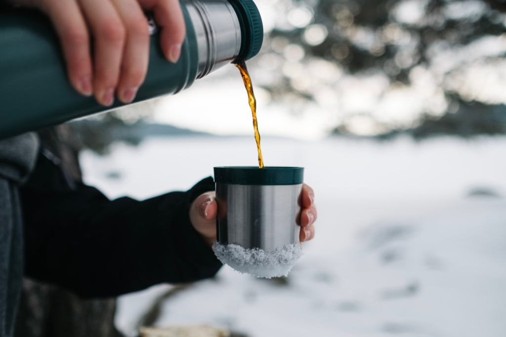 Bring hot soup in a thermos for your next backcountry ski tour.